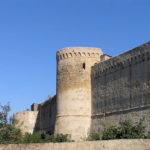 Tratto delle Mura a sinistra della Porta Nuova, Magliano in Toscana, Grosseto. Author and Copyright Marco Ramerini