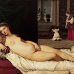 Venus de Urbino, Tiziano, Galería de los Uffizi, Florencia