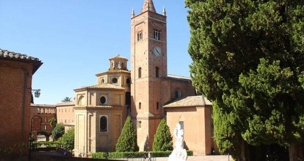 Abbazia di Monte Oliveto Maggiore, Asciano, Siena. Author Niels Elgaard Larsen. No Copyright