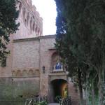 Abbazia di Monte Oliveto Maggiore, Asciano, Siena. Author and Copyright Marco Ramerini.