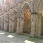 Abbaye de San Galgano, Chiusdino, Sienne. Auteur et Copyright Marco Ramerini
