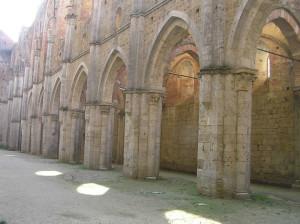 Abbazia di San Galgano, Chiusdino, Siena... Author and Copyright Marco Ramerini