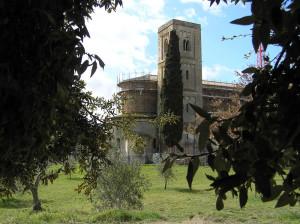 Abbazia di Sant'Antimo, Montalcino, Siena. Author and Copyright Marco Ramerini,,.