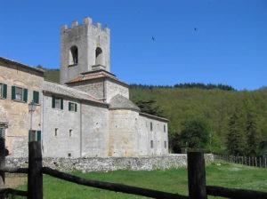 Badia a Coltibuono, Gaiole in Chianti, Sienne. Auteur et Copyright Marco Ramerini