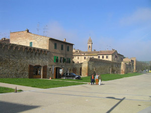 Buonconvento, Siena. Author and Copyright Marco Ramerini