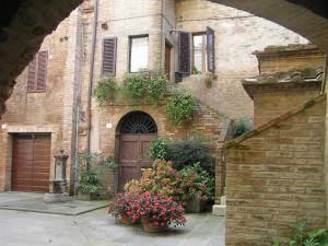 Buonconvento, Siena. Author and Copyright Marco Ramerini,,