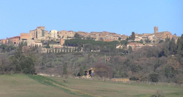 Casole d'Elsa, Siena. Author and Copyright Marco Ramerini