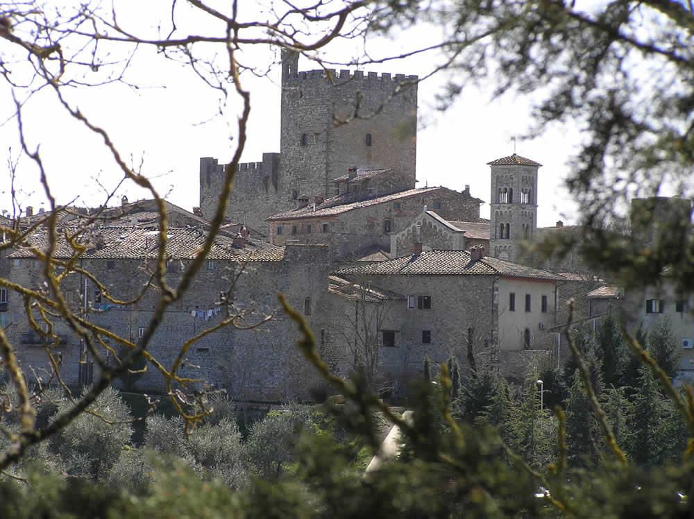 Castellina in Chianti, Sienne. Auteur et Copyright Marco Ramerini