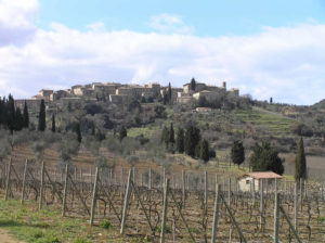 Castelnuovo dell'Abate, Montalcino, Siena. Author and Copyright Marco Ramerini