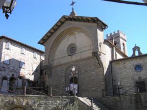 Chiesa di San Niccolò, Radda in Chianti, Siena. Author and Copyright Marco Ramerini