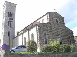 Chiesa di San Sigismondo, Gaiole in Chianti, Siena. Author and Copyright Marco Ramerini