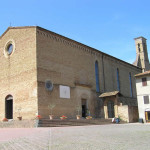 Chiesa di Sant'Agostino, San Gimignano, Siena. Author and Copyright Marco Ramerini