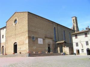 Chiesa di Sant'Agostino, San Gimignano, Siena. Author and Copyright Marco Ramerini
