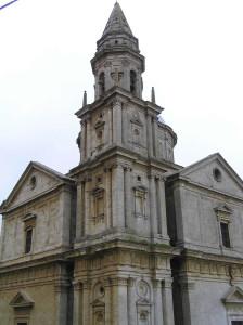 Chiesa o Santuario della Madonna di San Biagio, Montepulciano, Siena. Author and Copyright Marco Ramerini