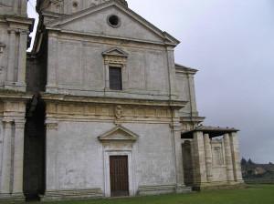 Chiesa o Santuario della Madonna di San Biagio, Montepulciano, Siena. Author and Copyright Marco Ramerini.,