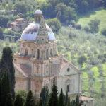 Chiesa o Santuario della Madonna di San Biagio, Montepulciano, Siena. Author and Copyright Marco Ramerini.