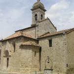 Collegiata o Pieve di Osenna (Santi Quirico e Giulitta), San Quirico d'Orcia, Siena. Author and Copyright Marco Ramerini