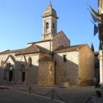 Collegiata o Pieve di Osenna (Santi Quirico e Giulitta), San Quirico d'Orcia, Siena. Author and Copyright Marco Ramerini.