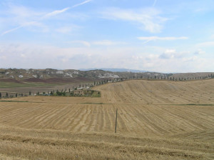 Crete Senesi, Siena. Author and Copyright Marco Ramerini