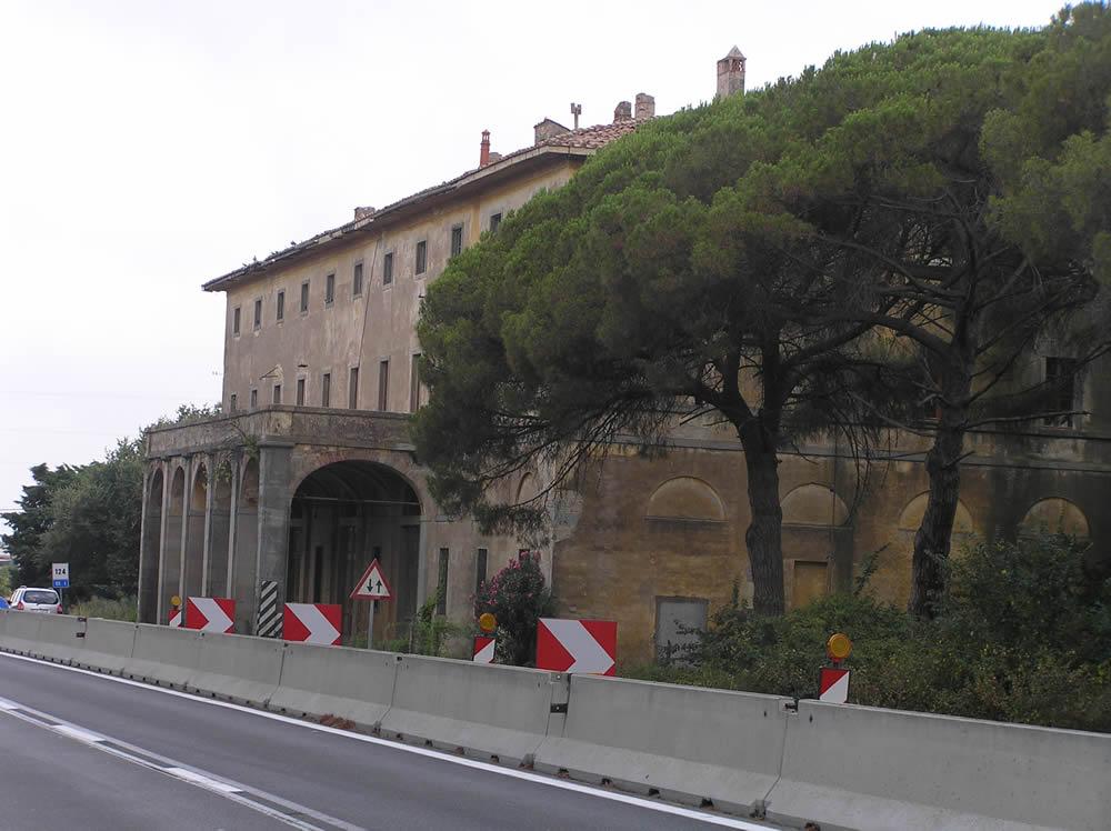 Dogana Pontificia, Capalbio, Grosseto. Author and Copyright Marco Ramerini