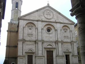 Duomo, Pienza, Val d'Orcia, Siena. Author and Copyright Marco Ramerini.