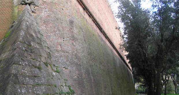 Fortezza Medicea, Siena. Author and Copyright Marco Ramerini