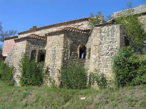 I resti della Chiesa e Convento di San Francesco, Pitigliano, Grosseto. Author and Copyright Marco Ramerini