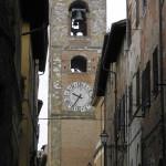 Il Campanile del Duomo di Colle Val d'Elsa, Siena. Author and Copyright Marco Ramerini