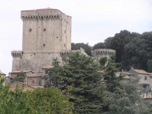 Il Castello di Sarteano, Siena. Author and Copyright Marco Ramerini