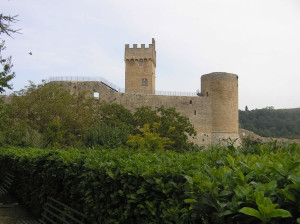 Il Castello di Staggia Senese, Poggibonsi, Siena,. Author and Copyright Marco Ramerini