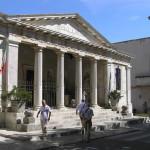Le Musée national d'archéologie étrusque, Chiusi, Sienne. Auteur et Copyright Marco Ramerini