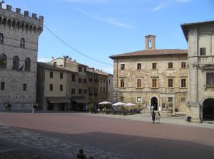 Il Palazzo del Capitano del Popolo, Montepulciano, Siena. Author and Copyright Marco Ramerini