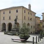 Il Palazzo del Municipio, Sarteano, Siena. Author and Copyright Marco Ramerini