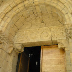 Il Portale dell'Abbazia di Sant'Antimo, Montalcino, Siena. Author and Copyright Marco Ramerini,