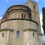 L'Abside dell'Abbazia di Sant'Antimo, Montalcino, Siena. Author and Copyright Marco Ramerini
