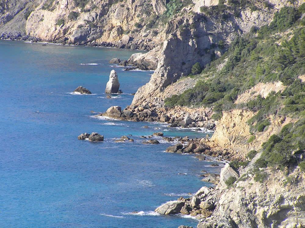 Cala dell'Olio, Monte Argentario, Grosseto. Author and Copyright Marco Ramerini