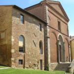 La Chiesa di San Francesco e il Convento, Chiusi, Siena. Autore e Copyright Marco Ramerini
