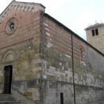 La Chiesa di Santa Maria in Canonica, Colle Val d'Elsa, Siena. Author and Copyright Marco Ramerini