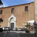 La Chiesa e il Convento di San Francesco, Montepulciano, Siena. Author and Copyright Marco Ramerini