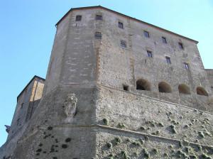 La Rocca degli Orsini, Sorano, Grosseto. Author and Copyright Marco Ramerini