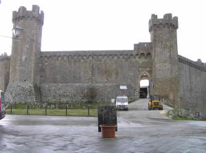 La Rocca di Montalcino, Siena. Author and Copyright Marco Ramerini