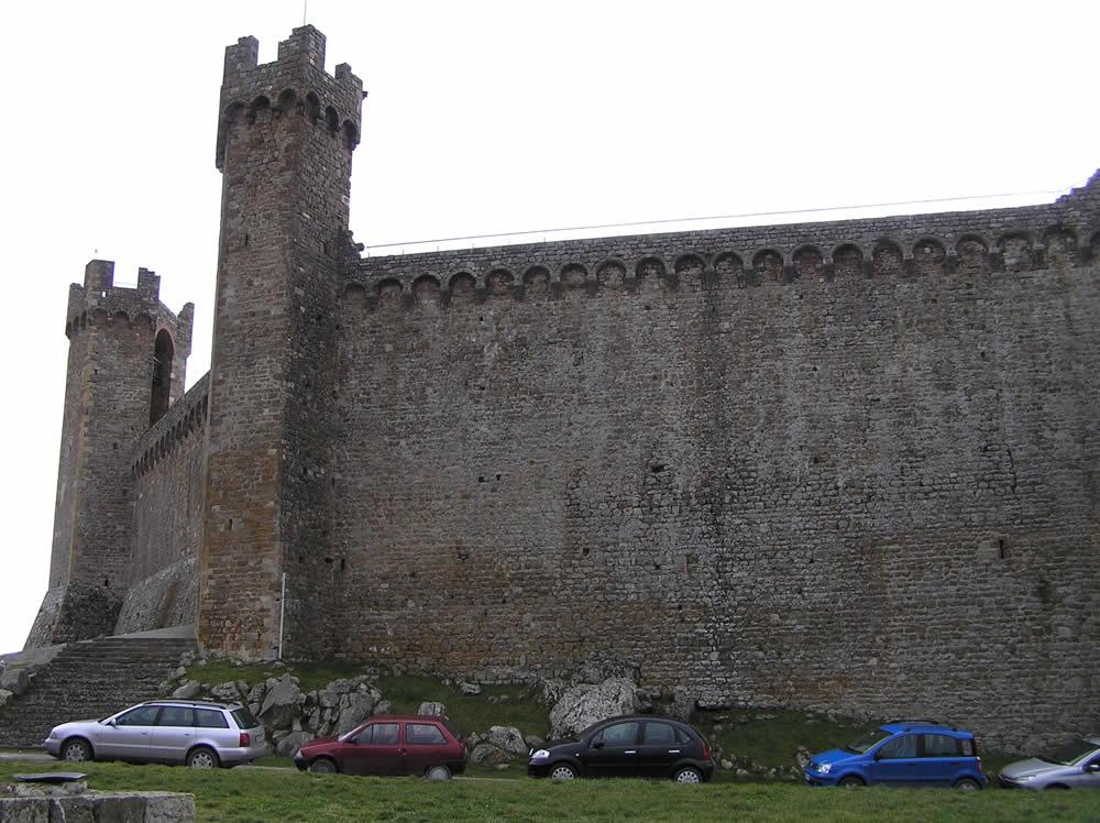 La Rocca di Montalcino, Siena. Author and Copyright Marco Ramerini.