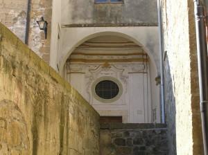 La Sinagoga, Pitigliano, Grosseto. Author and Copyright Marco Ramerini