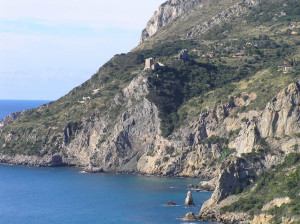 La Torre della Maddalena e la Cala dell'Olio, Monte Argentario, Grosseto. Author and Copyright Marco Ramerini