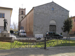 La chiesa parrocchiale, Paganico. Author and Copyright Marco Ramerini