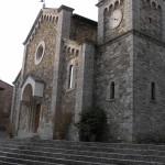 La chiesa parrocchiale di San Salvatore, Castellina in Chianti, Siena. Author and Copyright Marco Ramerini
