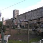 La cinta muraria di Paganico. Author and Copyright Marco Ramerini