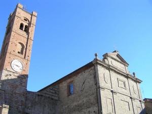 La collegiata, Radicondoli, Siena. Author and Copyright Marco Ramerini