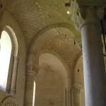 L'interno, Abbazia di Sant'Antimo, Montalcino, Siena. Author and Copyright Marco Ramerini