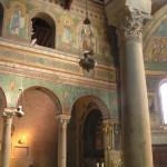 L'intérieur de la cathédrale, Chiusi, Sienne. Auteur et Copyright Marco Ramerini